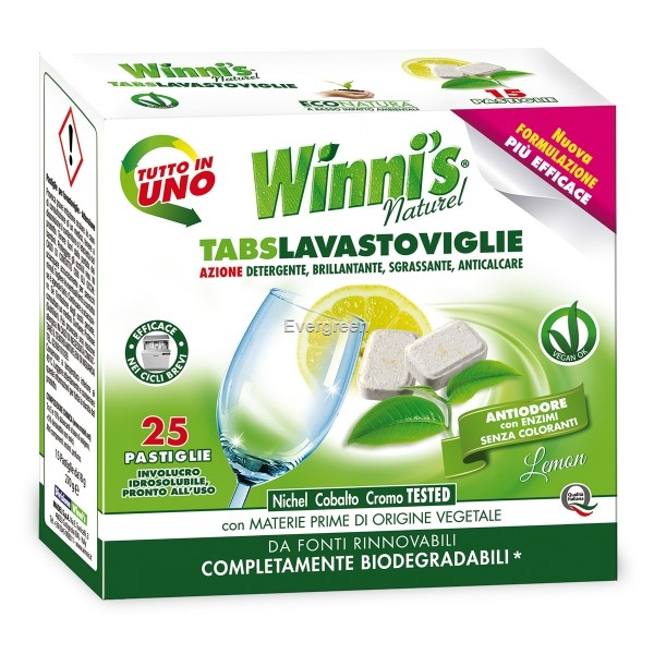 Tabletki do zmywarki (25 tabletek) Winni's