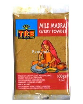 Curry mild madras w proszku 100g